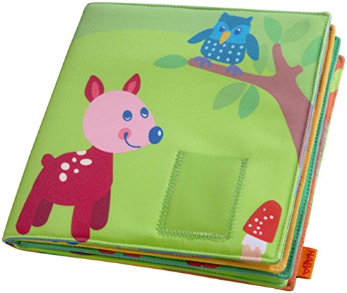 HABA Baby's First Photo Album Friends of the Enchanted Forest - Holds 8 4