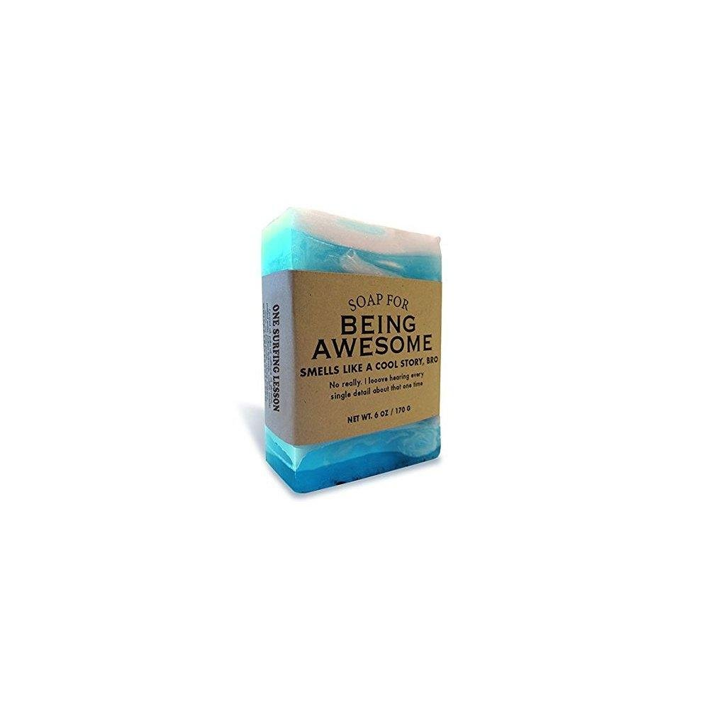 Soap for Being Awesome - One surfing lesson scented (Ocean)