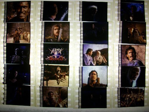 army-of-darkness-lot-of-12-35mm-film-cells-collectible-memorabilia-compliment