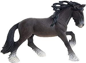 Schleich Shire Stallion Toy Figure