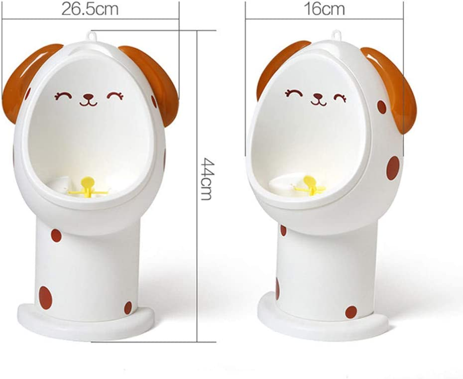 Blue UMei Potty Training Urinals Boy Cute Potty Toilet Training with Funny Aiming Target Pee Trainer Urine Bathroom Accessories