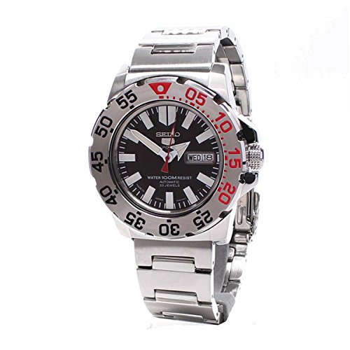 Seiko 5 Sports Automatic Gents SNZF47J1 [Watch] (Made in - Monster Black Automatic Seiko