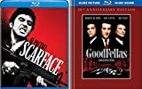 Mobsters & Gangsters Classic Double Feature - Al Pacino in Scarface & Robert De Niro in Goodfellas 2-Movie Blu-ray Bundle