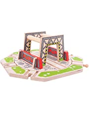 Bigjigs Rail Wooden Industrial Turntable Train Railway Accessories