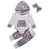 Newborn Baby Boy Girl Clothes Infant Long Sleeve