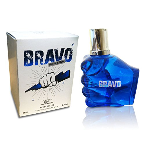 BRAVO PERFUME for MEN, 2.8 fl oz - 85 ml, EDT VERSION of DIESEL ONLY THE BRAVE by MIRAGE BRANDS