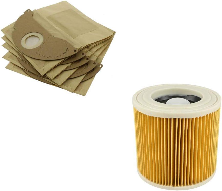 Find A - Filtro de Cartucho de Repuesto y Bolsas de Papel X5 para ...