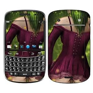 Diabloskinz vinilo B 0059-0025-0006 diseño de bruja Skin para Blackberry Bold 9900 Series