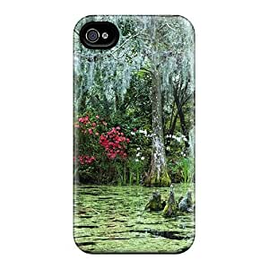 Ultra Slim Fit Hard Mialisabblake Case Cover Specially Made For Iphone 4/4s- Swamp L