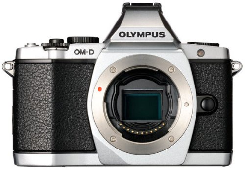 16.1 Mp Cmos Sensor (Olympus OM-D E-M5 16MP Live MOS Mirrorless Digital Camera with 3.0-Inch Tilting OLED Touchscreen [Body Only] Silver (Discontinued by Manufacturer))