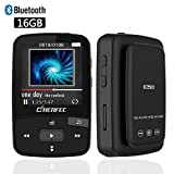 Best 64 Gb Sd Card For Musics - CFZC 16GB MP3 Player Bluetooth Digital Clip Portable Review
