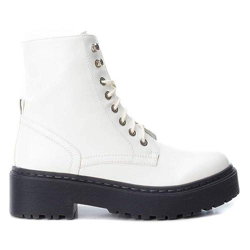 Bota Militar Doble Piso Xti 48396 Blanco - Xti  Amazon.es  Zapatos y  complementos 217484f91127c