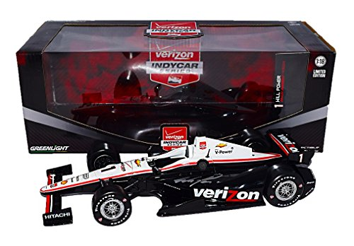 Verizon Green - AUTOGRAPHED 2015 Will Power #1 Verizon Racing Chevy (Team Penske) 1/18 Scale Greenlight Verizon Indy Car Series Diecast with COA (#332 of only 642 produced!)