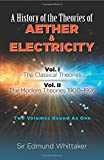 img - for A History of the Theories of Aether & Electricity: Two Volumes Bound As One book / textbook / text book