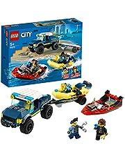 LEGO City Elite polis båt transport leksak 60272