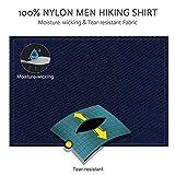 CAMEL CROWN Hiking Shirt Men Long Sleeve Outdoor