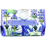 Michel Design Works Lavender Rosemary Large Bath Soap Bar