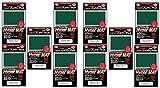 KMC Hyper Matte Sleeves Green ×10 Sets (10 Packs/total 800 Sheets) ( Japan Import )