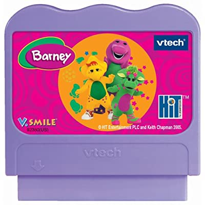 VTech - V.Smile Smartridge Barney The Land of Make Believe: Toys & Games