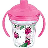 Tervis Lady Buggin Sippy Cup with Lid, 6 oz, Clear