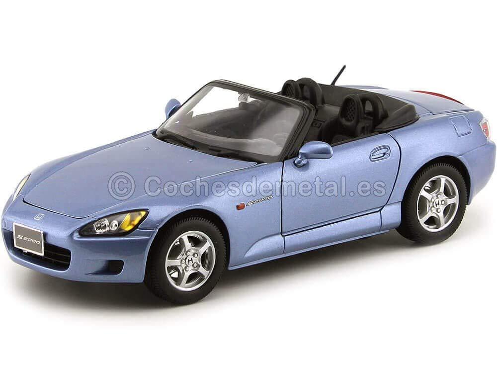 servicio considerado 2001 Honda S2000 Convertible F20C VTEC Azul 1:18 Maisto 31879 31879 31879 Cochesdemetal.es  autorización