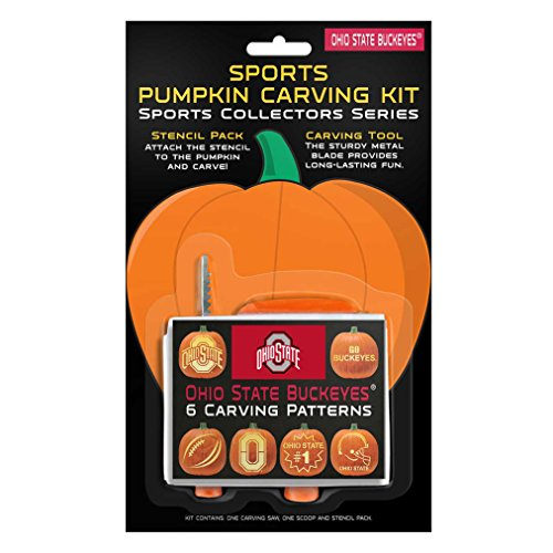 NCAA Ohio State Buckeyes Pumpkin Carving Kit]()