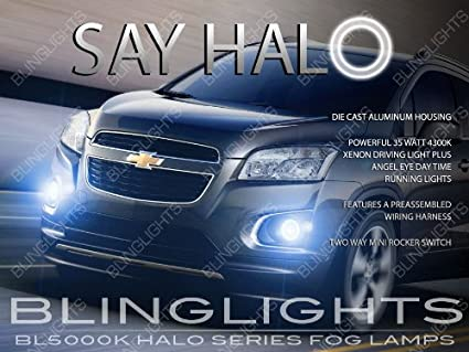 Amazon 2013 2016 Chevrolet Trax Angel Eye Fog Lamps Halo