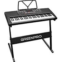 Click N' Play GreenPro 61 Key Portable Electronic Piano...