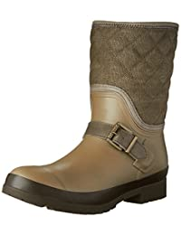 Sperry Women's WALKER GRAY WASHED CANVAS Rain Boots
