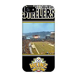 Iphone 5/5s Cases Covers - Slim Fit Protector Shock Absorbent Cases (pittsburgh Steelers)