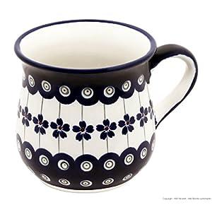 Boleslawiec Boleslawiec pottery mug 1599 (166A) (japan import)