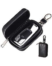 keyless go skydd bilnyckel, RFID radionyckel Faraday väska, signal avskärmning nyckelväska