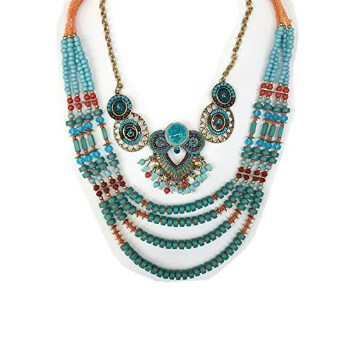 Bohemian Necklace Beads...