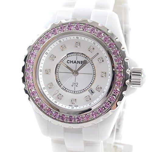 [シャネル]CHANEL 腕時計 J12 33mm H2010 中古[1304201]ホワイト 付属:国際保証書 修理保証書/修理明細 B07DXQNPQK