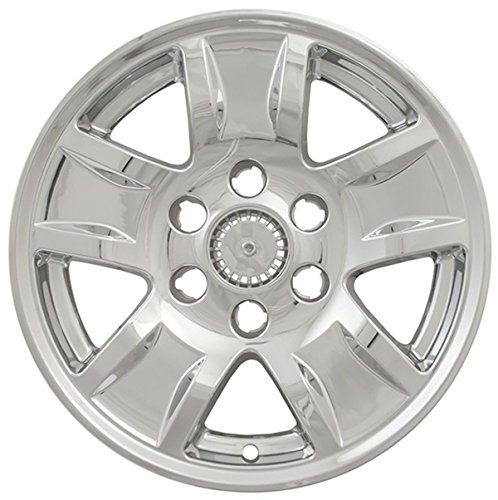 Set of 4 Chrome Wheels Skins for 14-17 Chevrolet Silverado 1500 17