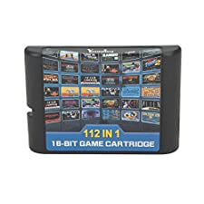 DODOING 112 in 1 Game Cartridge 16 Bit MD Game Card for Sega Mega Drive for Sega Genesis
