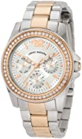 Tommy Bahama RELAX Women's RLX4009 Riveria Two-Tone Rose Gold Stones Watch from Torquere Press