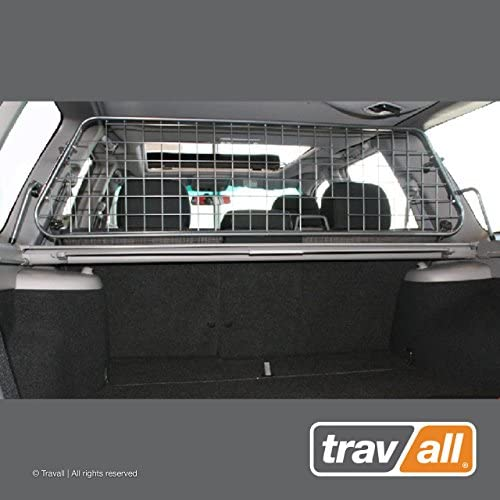 Travall Guard Compatible with Subaru Forester with Sunroof 2002-2008 TDG1066 – Rattle-Free Steel Vehicle Specific Pet Barrier