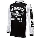 Fasthouse Original Air Cooled Men's Motocross Motorcycle Jersey Black 2X-Large