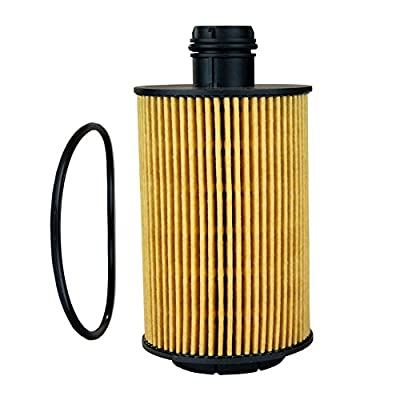 EcoGard X10232 Premium Cartridge Engine Filter for Conventional Oil Fits Jeep Grand Cherokee 2014-2020, Ram 2014-2020, 1500 Classic Diesel 2020-2020: Automotive