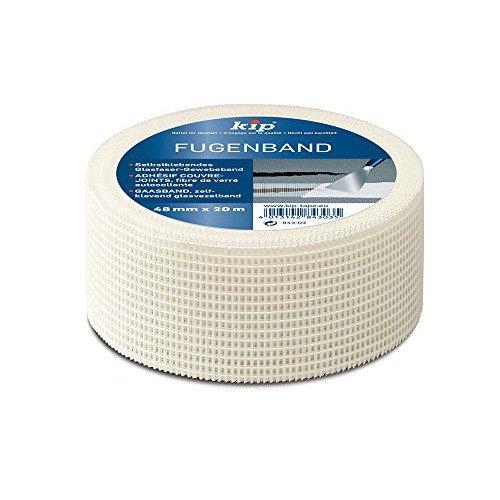 Kip Fugenband 48mm x 20m selbstklebendes Gitterband