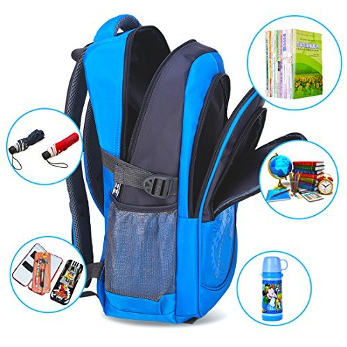 School Backpack Camping Backpack for Elementary or Middle School Boys and Girls