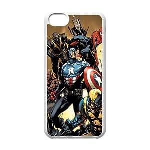 iPhone 5c Cell Phone Case White Avengers New Illust VIU087440