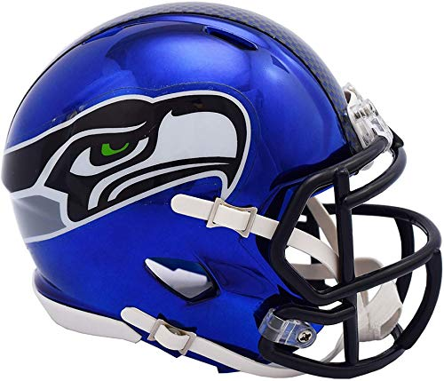 Riddell Seattle Seahawks Chrome Alternate Speed Mini Footbal