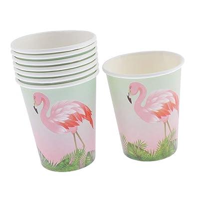 FLAMEER Vasos De Papel Desechables Vasos De Bebida para ...