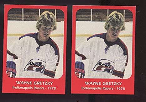 huge selection of f3eee 673e1 LOT 2 1978 Wayne Gretzky Indianapolis Racers Pre ROOKIE Hockey Card  Collection