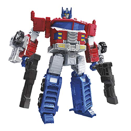 Transformers Toys Generations War For Cybertron Leader Wfc-s40 Galaxy Upgrade Optimus Prime Action Figure - Siege Chapter - Adults & Kids Ages 8 & Up, 7-inch