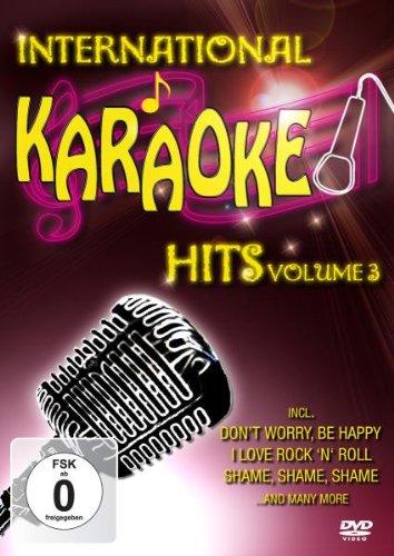 International Karaoke Hits Vol (Vol 3 Karaoke Dvd)