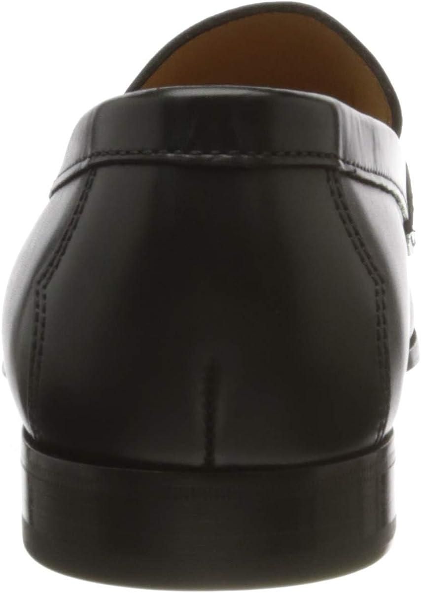 Ebony Negro Ebony Negro Loafer Lottusse L6974 42 EU Negro Mocasines para Hombre