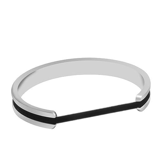 Amazon.com: zuobao Cabello Tie pulseras pulsera acero ...